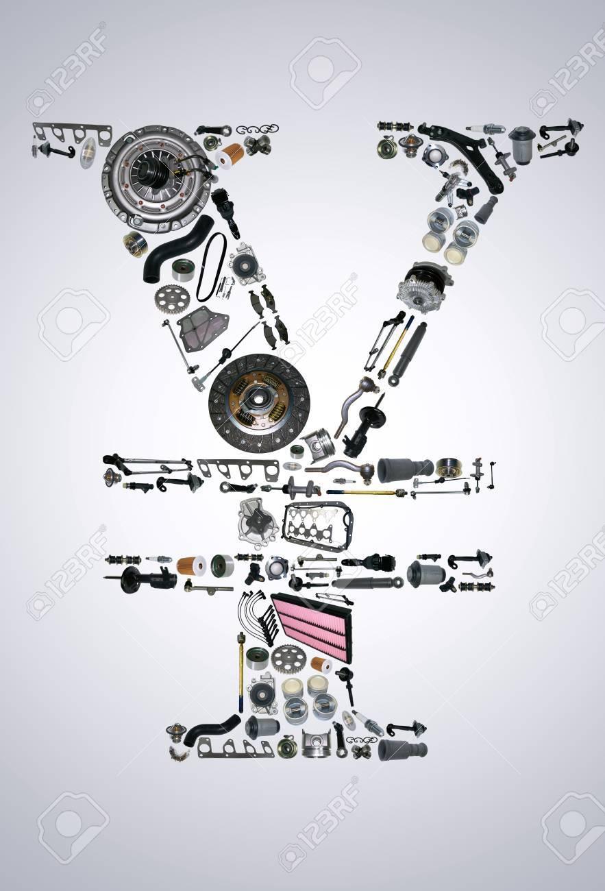 Berühmt Explosionszeichnung Von Autoteilen Bilder - Schaltplan Serie ...
