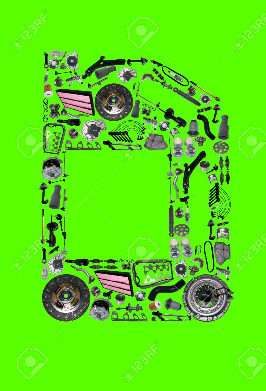 Fantastisch Explosionszeichnung Von Autoteilen Bilder - Elektrische ...