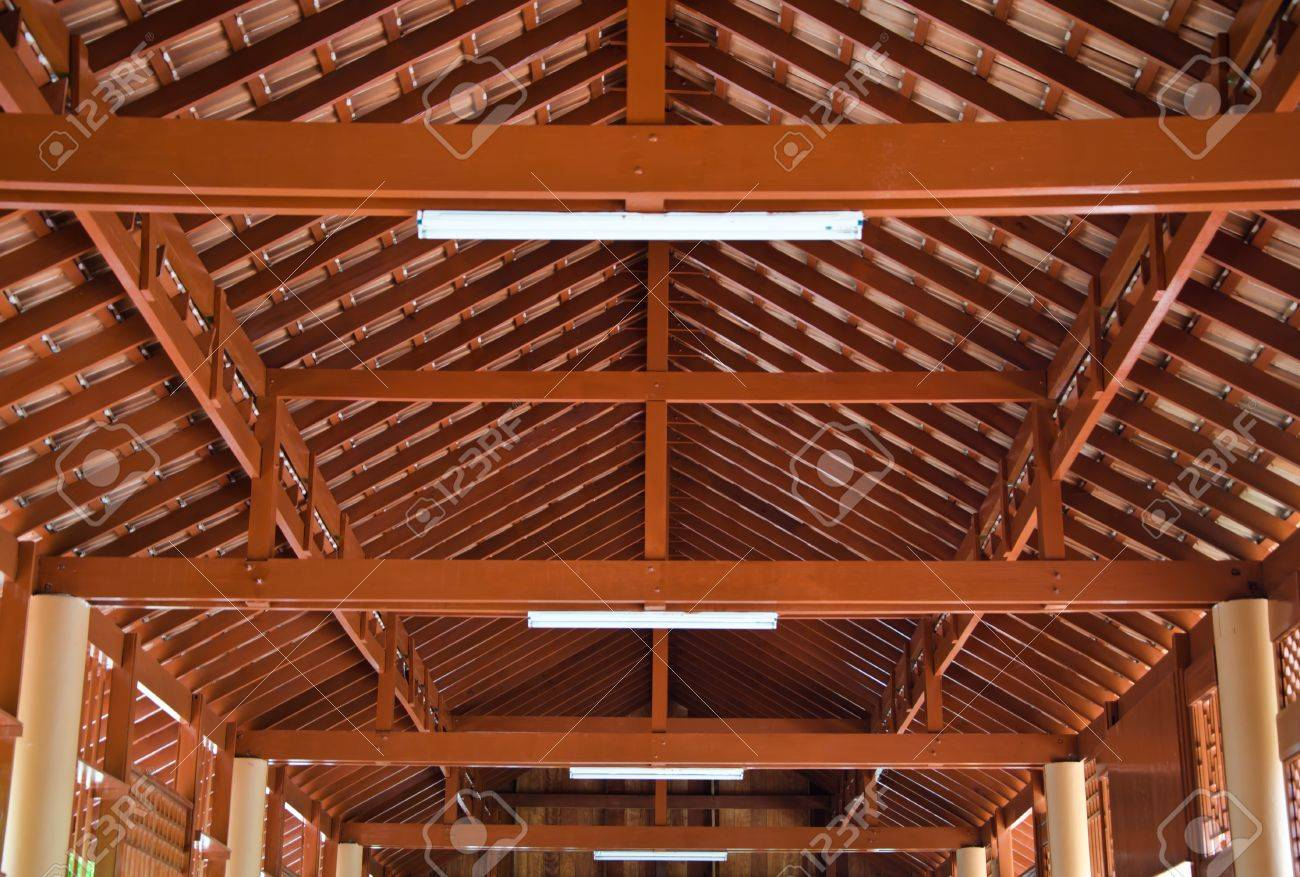Wood roof structures Stock Photo - 12880861 & Wood Roof Structures Stock Photo Picture And Royalty Free Image ... memphite.com