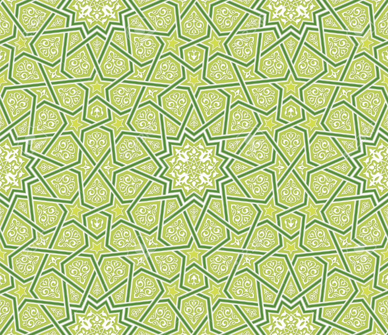 islamic star ornament green background vector illustration royalty free cliparts vectors and stock illustration image 94263541 islamic star ornament green background vector illustration