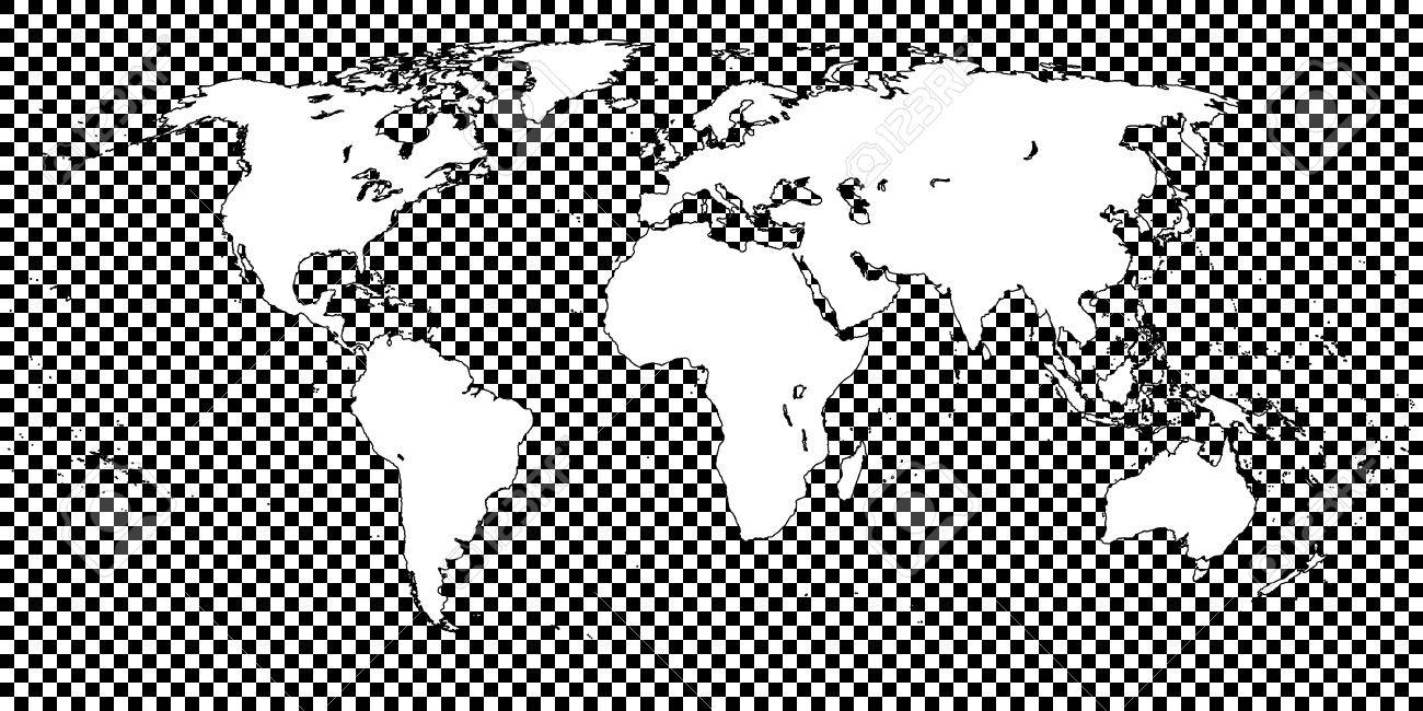 World map checkered black 1 big squares royalty free cliparts world map checkered black 1 big squares stock vector 42937892 gumiabroncs Image collections