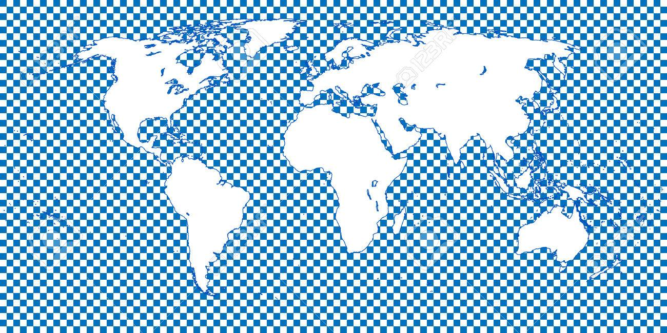 World map checkered blue 1 big squares royalty free cliparts vector world map checkered blue 1 big squares gumiabroncs Image collections