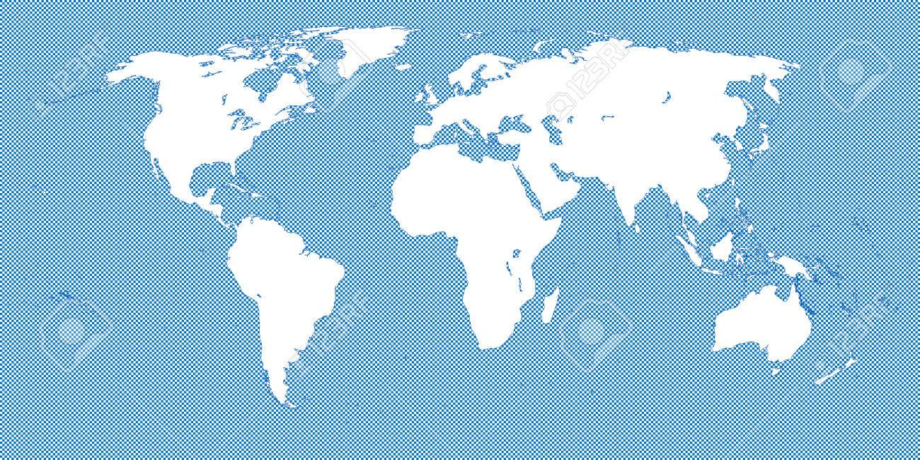 Checkered world map blue 3 small squares royalty free cliparts checkered world map blue 3 small squares stock vector 55619642 gumiabroncs Choice Image