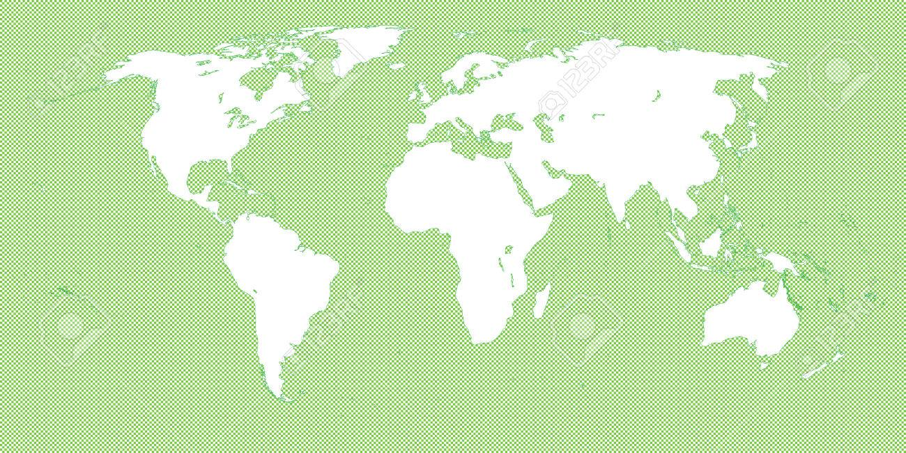 World map checkered green 3 small squares royalty free cliparts vector world map checkered green 3 small squares gumiabroncs Image collections