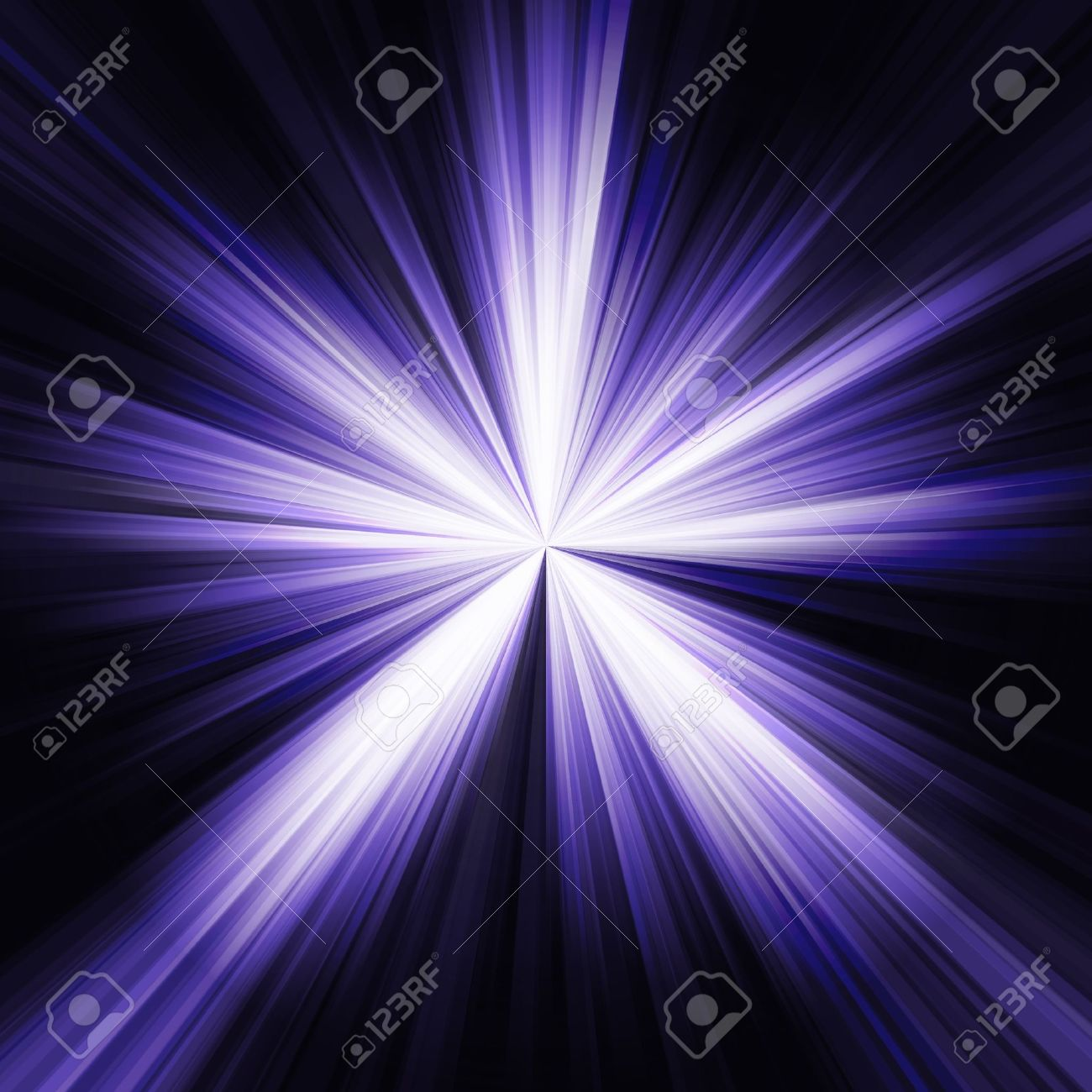 Bright Blue Flash On A Black Background Stock Photo Picture And Royalty Free Image Image 9129703