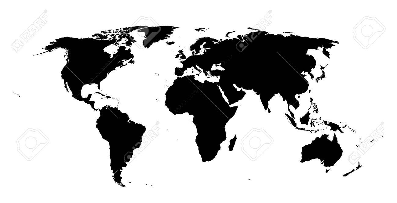 high quality world map - Tower.dlugopisyreklamowe.co