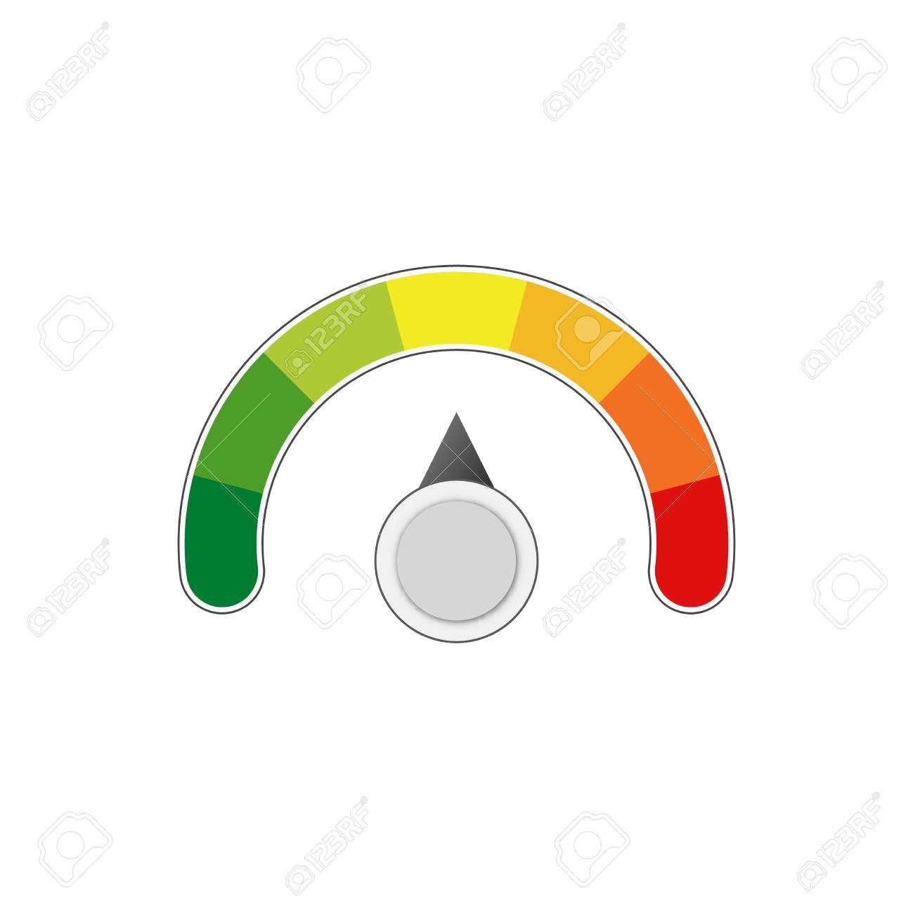 satisfaction level measure scale meter vector meter - 107308201