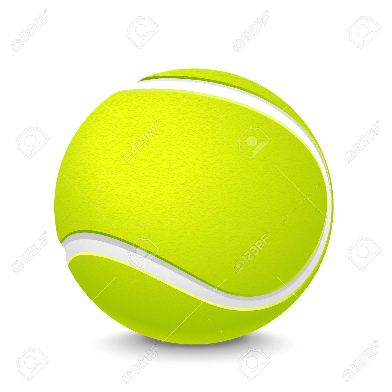 Tennis Ball Royalty Free Cliparts Vectors And Stock Illustration Image 33838311