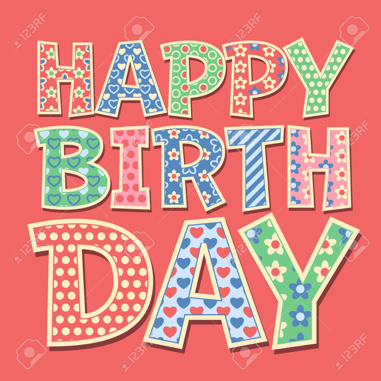 Happy birthday vector card with redneck style letters royalty free happy birthday vector card with redneck style letters stock vector 45571053 bookmarktalkfo Choice Image