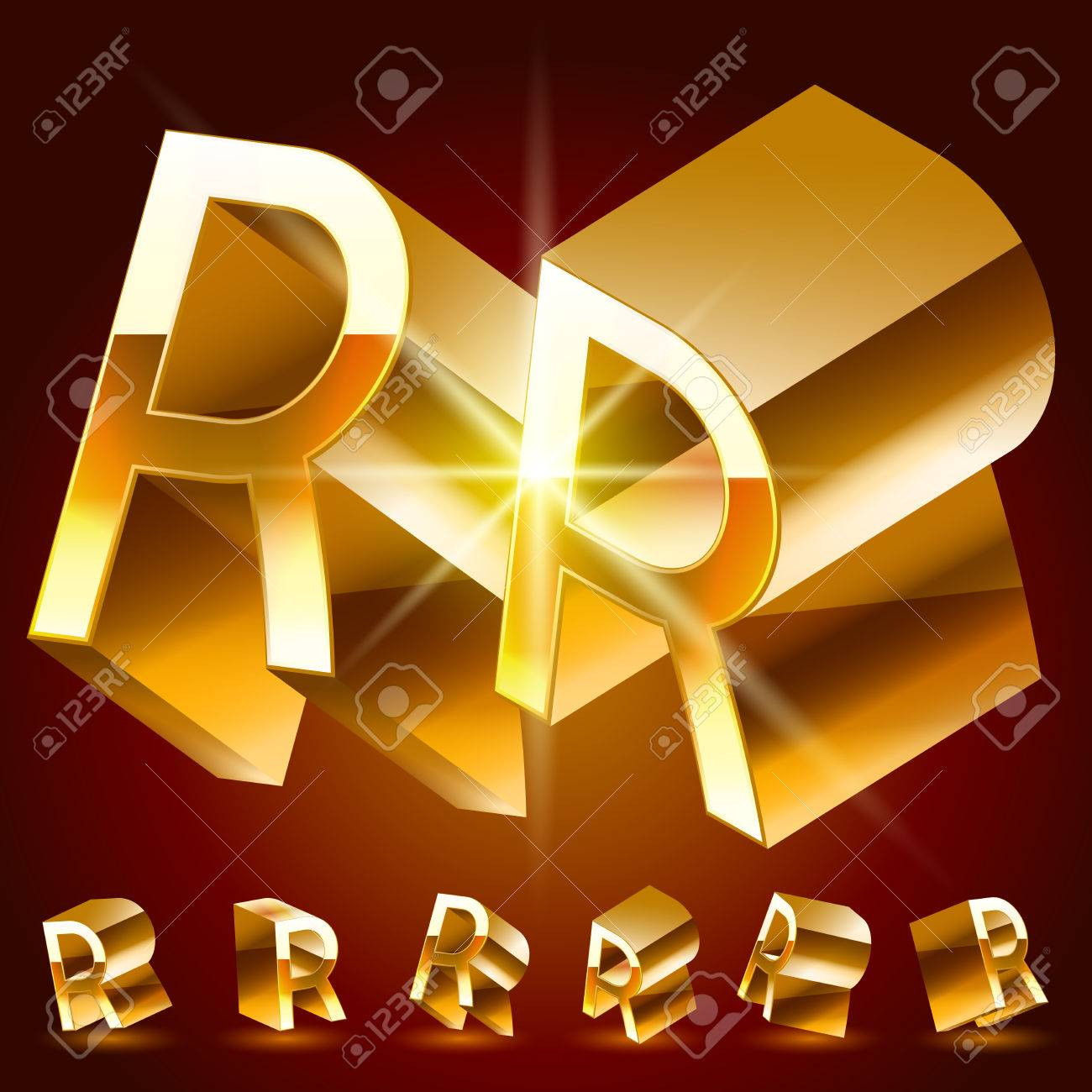 3d vector deluxe alphabet of randomly rotated thin golden symbols 3d vector deluxe alphabet of randomly rotated thin golden symbols all symbols in set have biocorpaavc