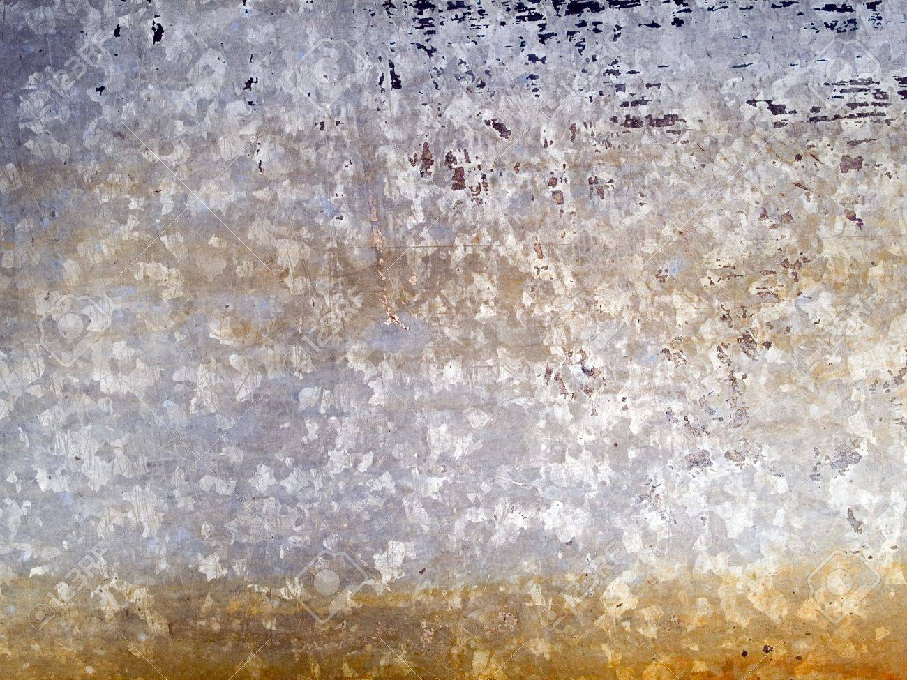 Stock macro photo of the texture of discolored metal.  Useful for layer masks and abstract backgrounds. Stock Photo - 8050992