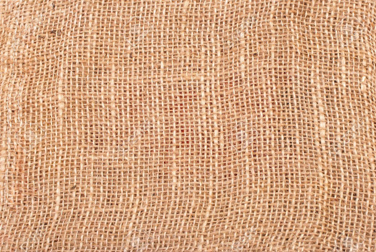 High Resolution Jute Coarse Grain Canvas Texture Stock Photo