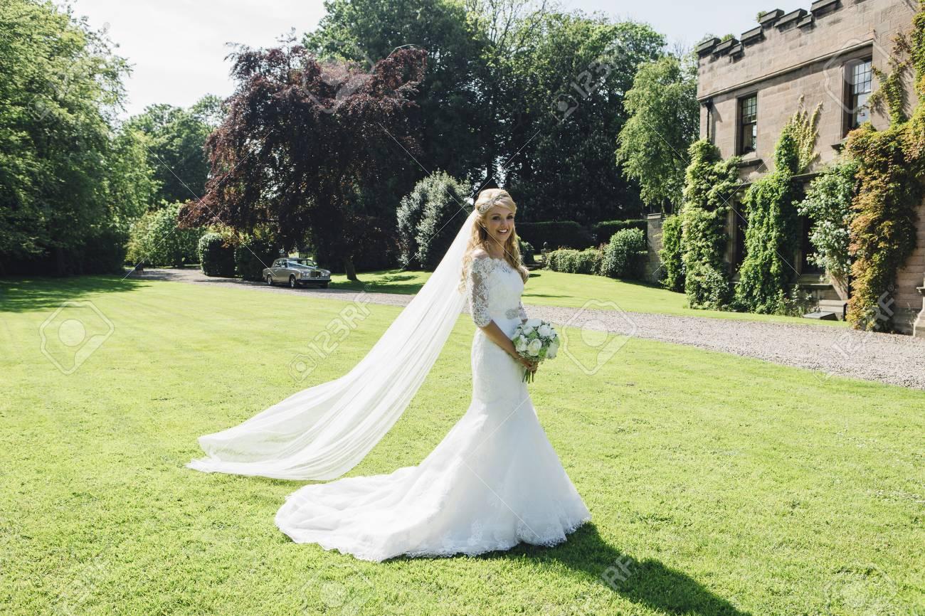 Vestidos de novia para un jardin