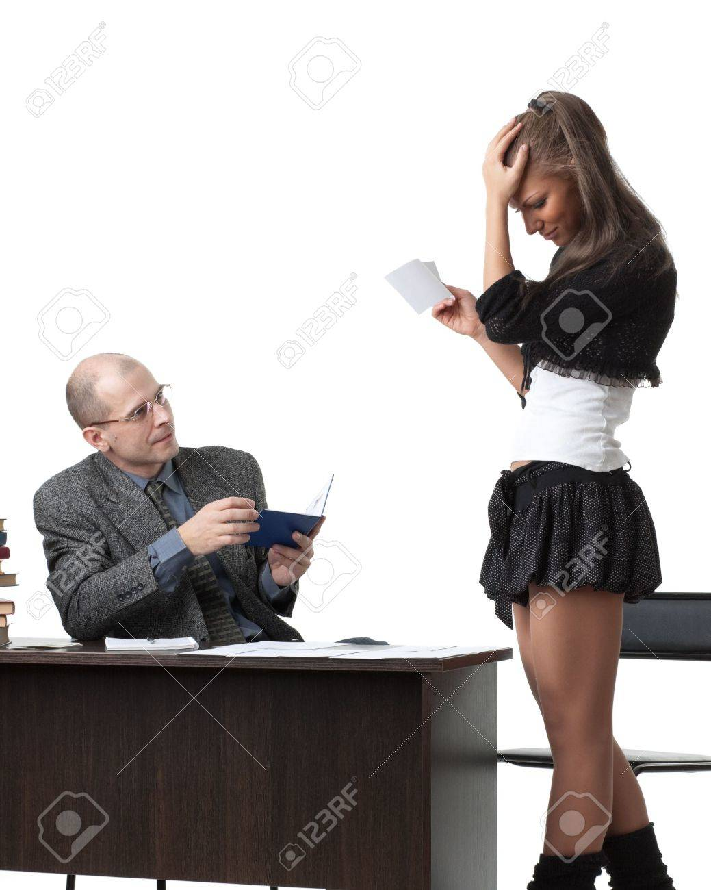 Старый профессор принял экзамен у молодой соски 19 фотография