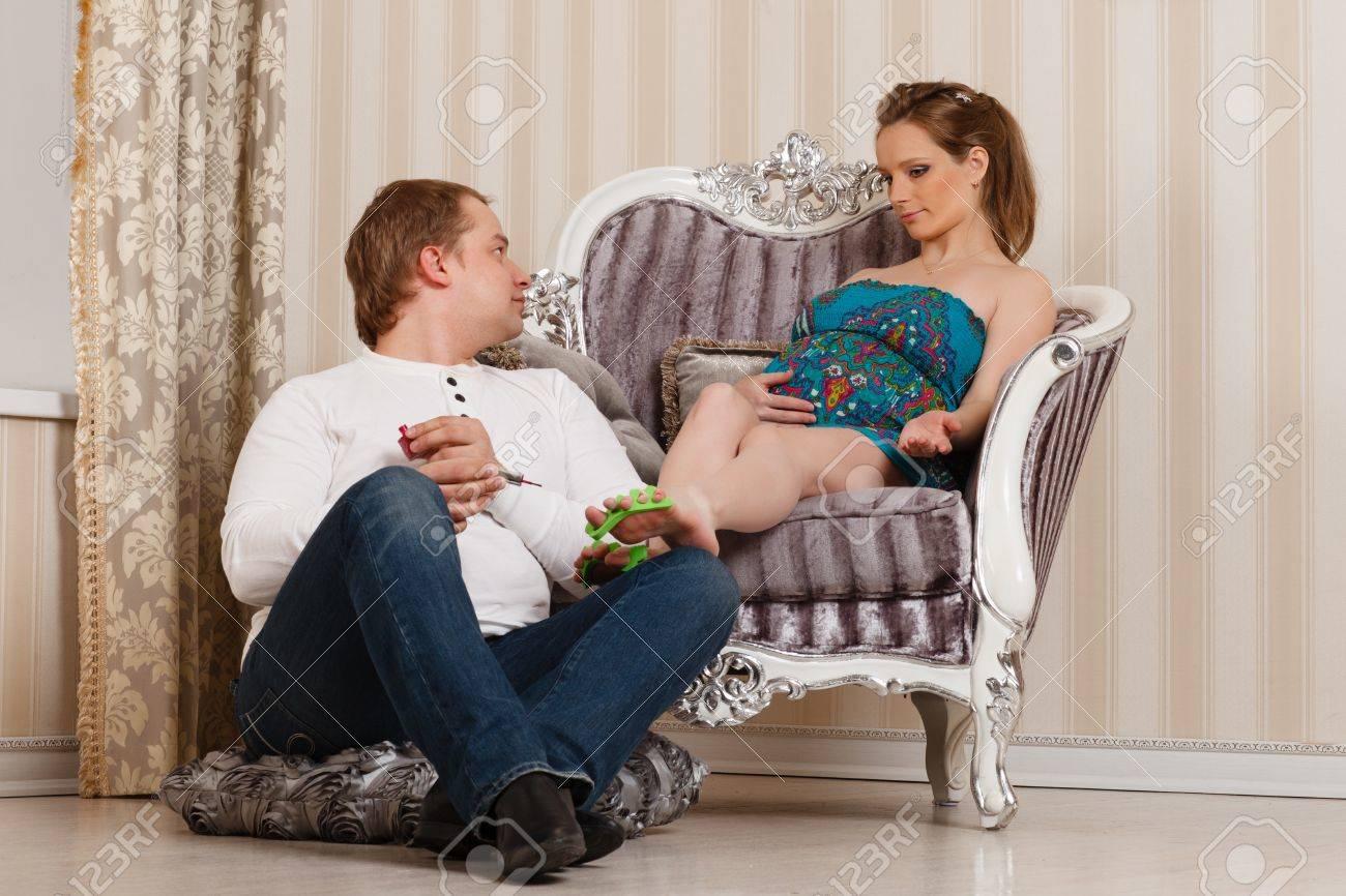 Жена с мужем дома фото 121-665