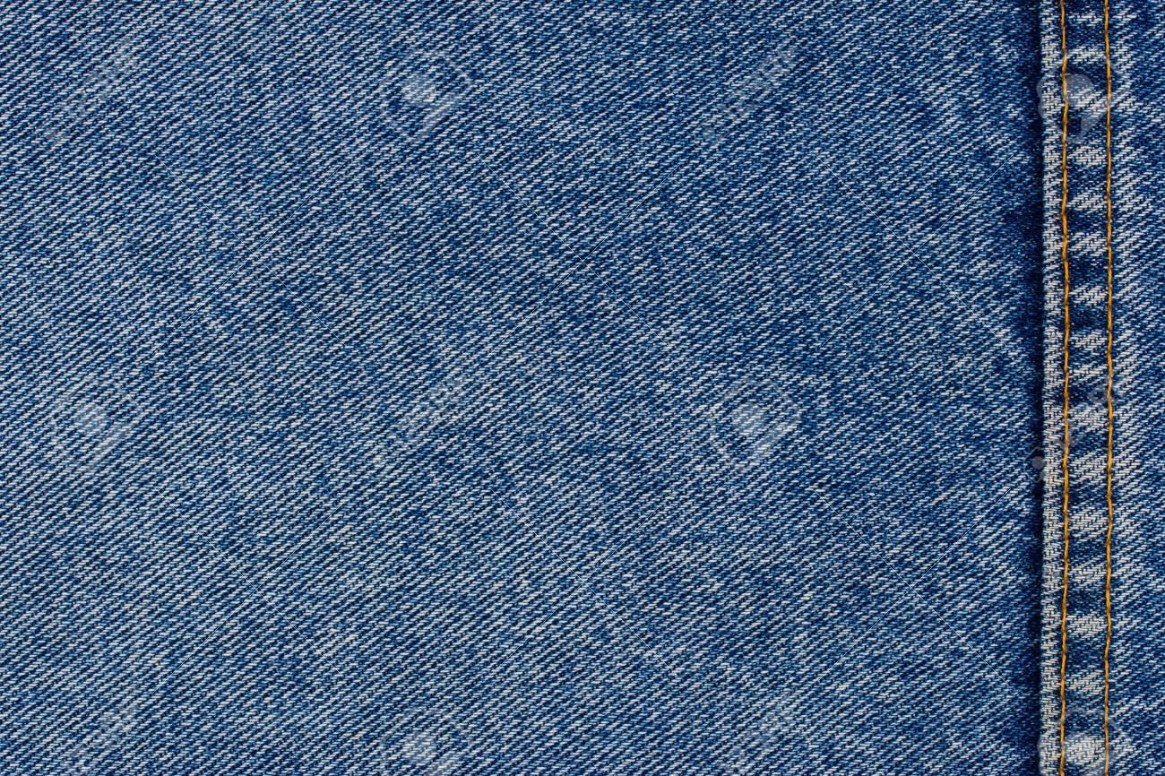Jeans Textur Hintergrund Mit Nähten. Zusammenfassung Hintergrund ...