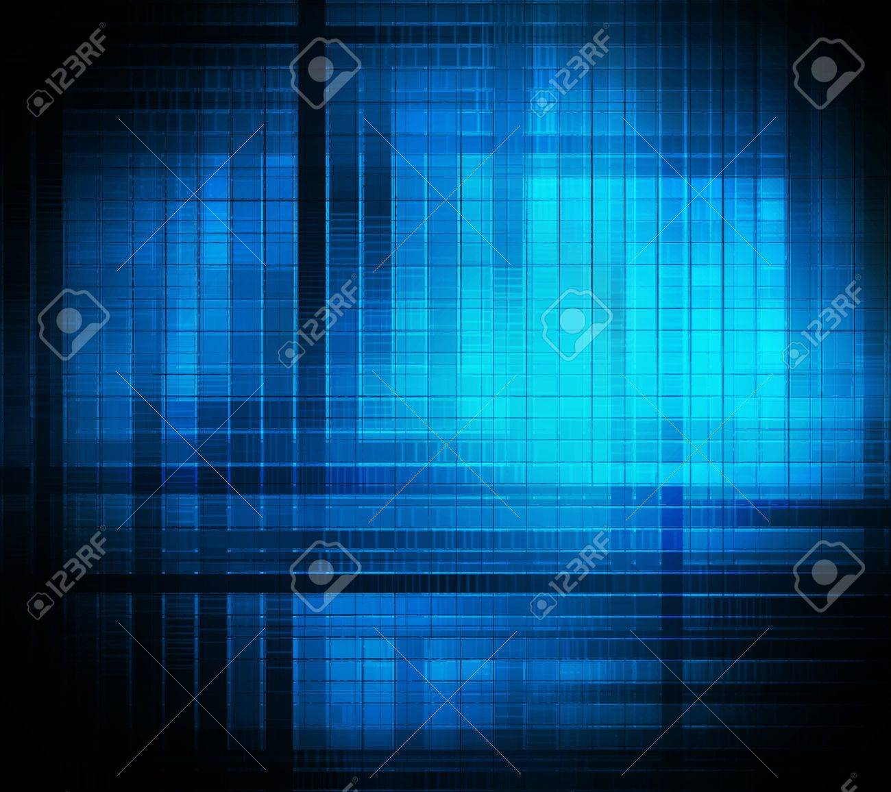 square background abstract of techno style Stock Photo - 12776687