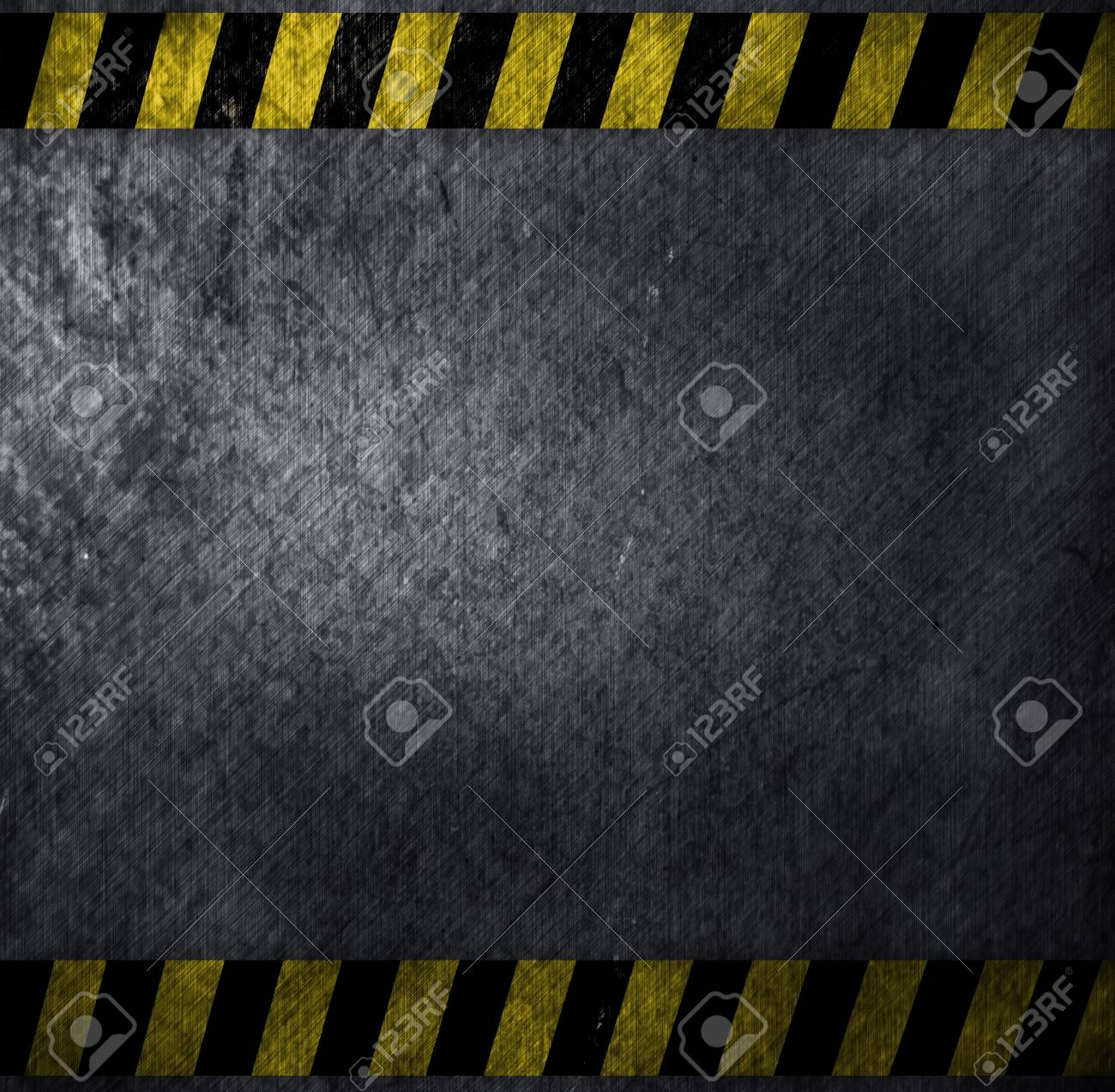 metal warning template for you project Stock Photo - 12947893