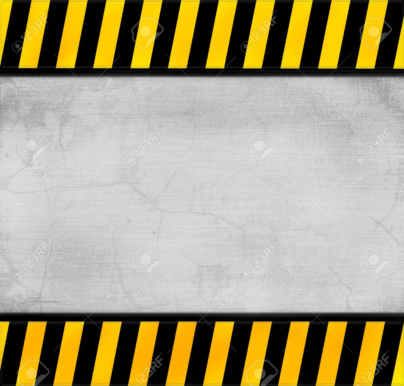 metal warning template for you project Stock Photo - 12951533