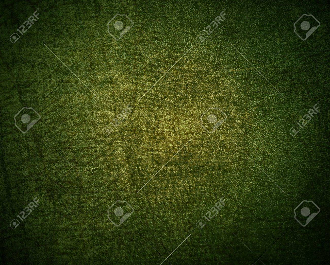 Natural qualitative green leather texture. Close up. Stock Photo - 13064991