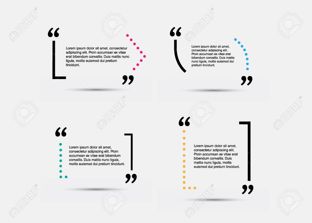 quote blank template empty quote bubble quote form quote citation