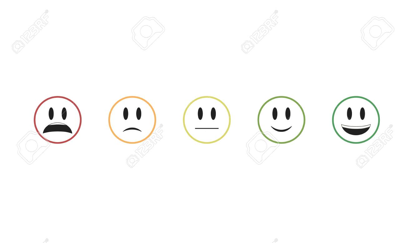 Vector Isolated On White Background Emoji Vector Smile Icon Royalty Free Cliparts Vectors And Stock Illustration Image 68806764