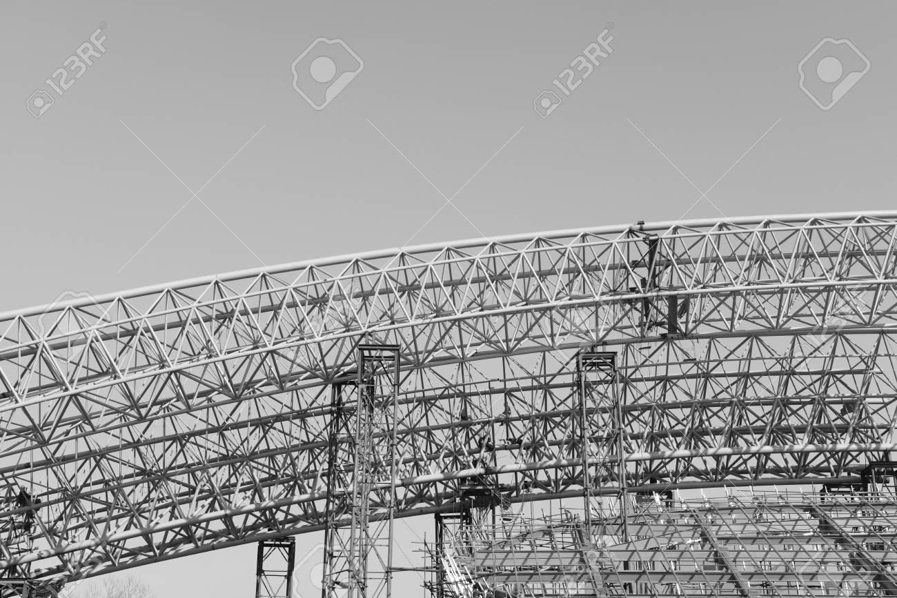 Es La Construcción De Edificios Con Estructura De Acero Fotos ...