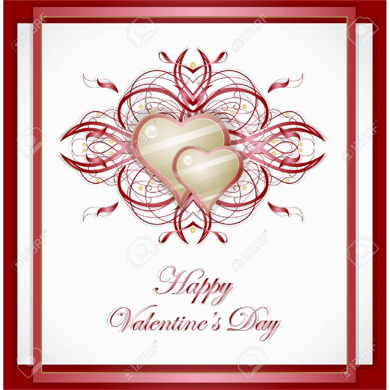 Valentines hearts. Stock Vector - 17479737