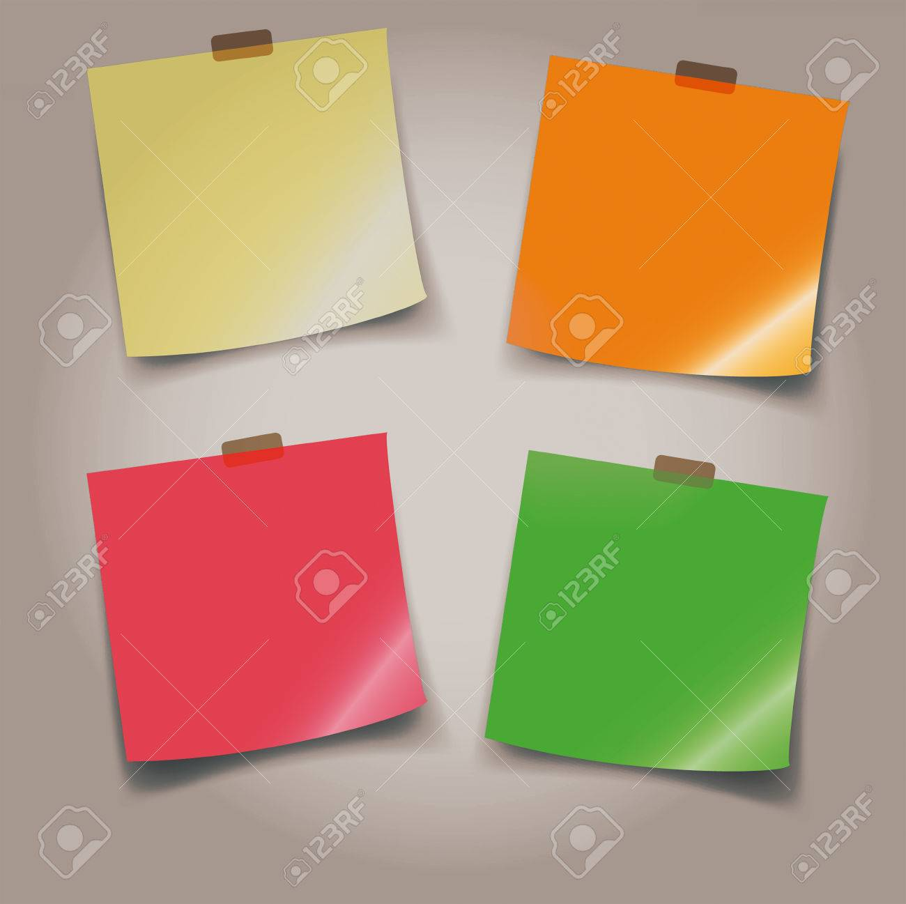 adhesive note paper with transparent sticker fancy colored