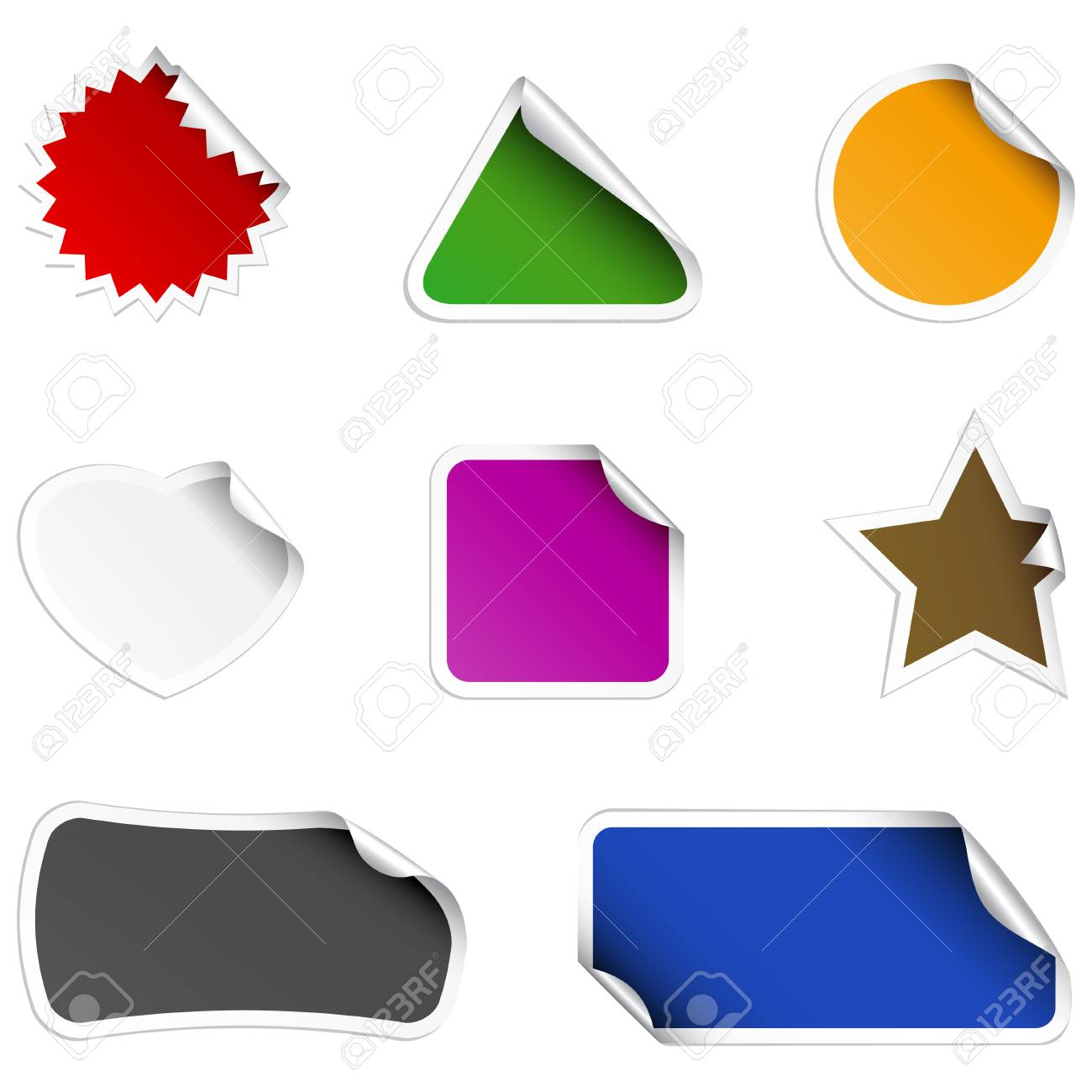 Stickers Stock Vector - 6242189