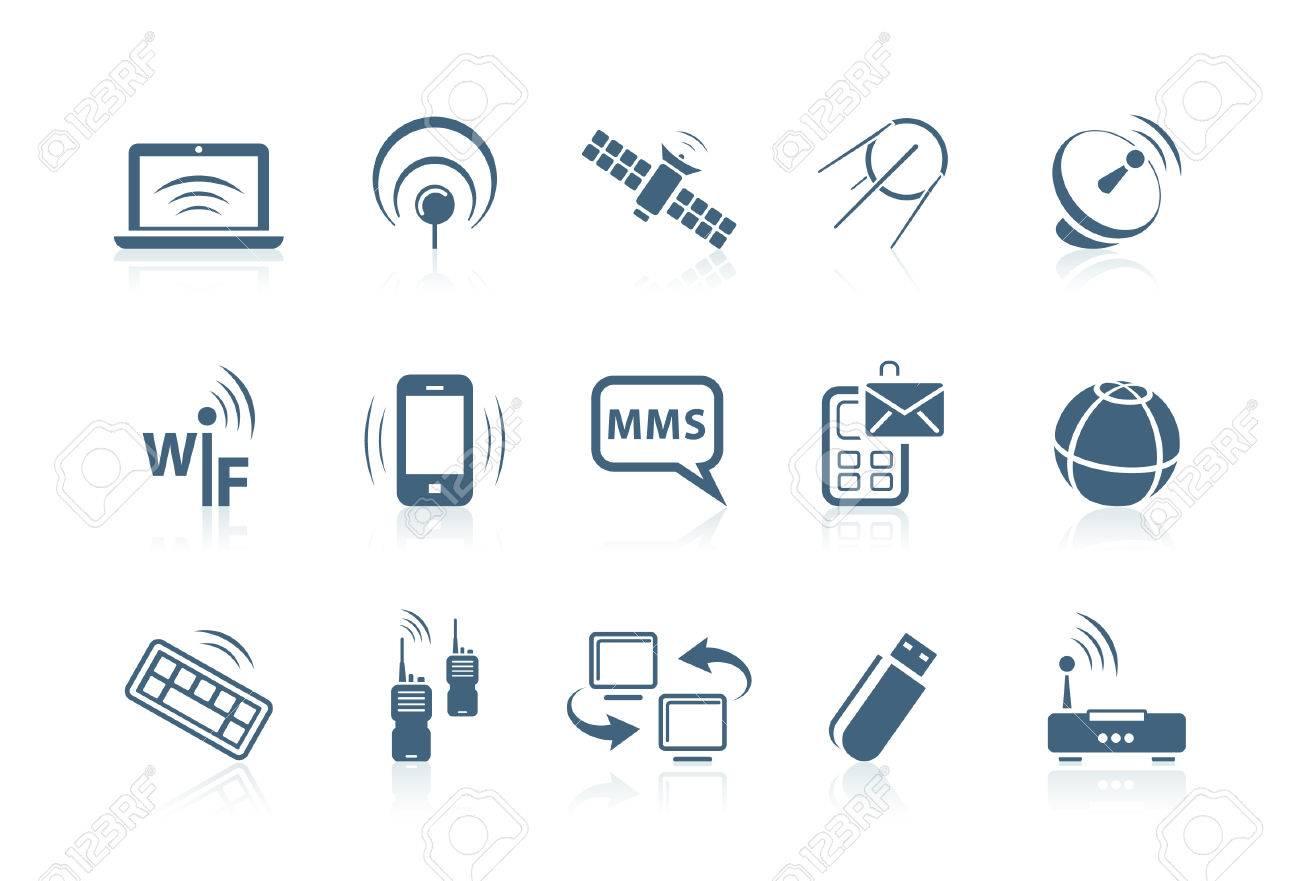 Wireless-Ikonen   Piccolo-Serie Lizenzfrei Nutzbare Vektorgrafiken ...