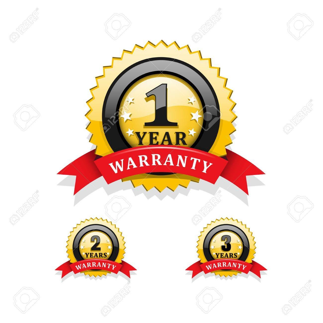 Warranty emblems vector Stock Vector - 22015606