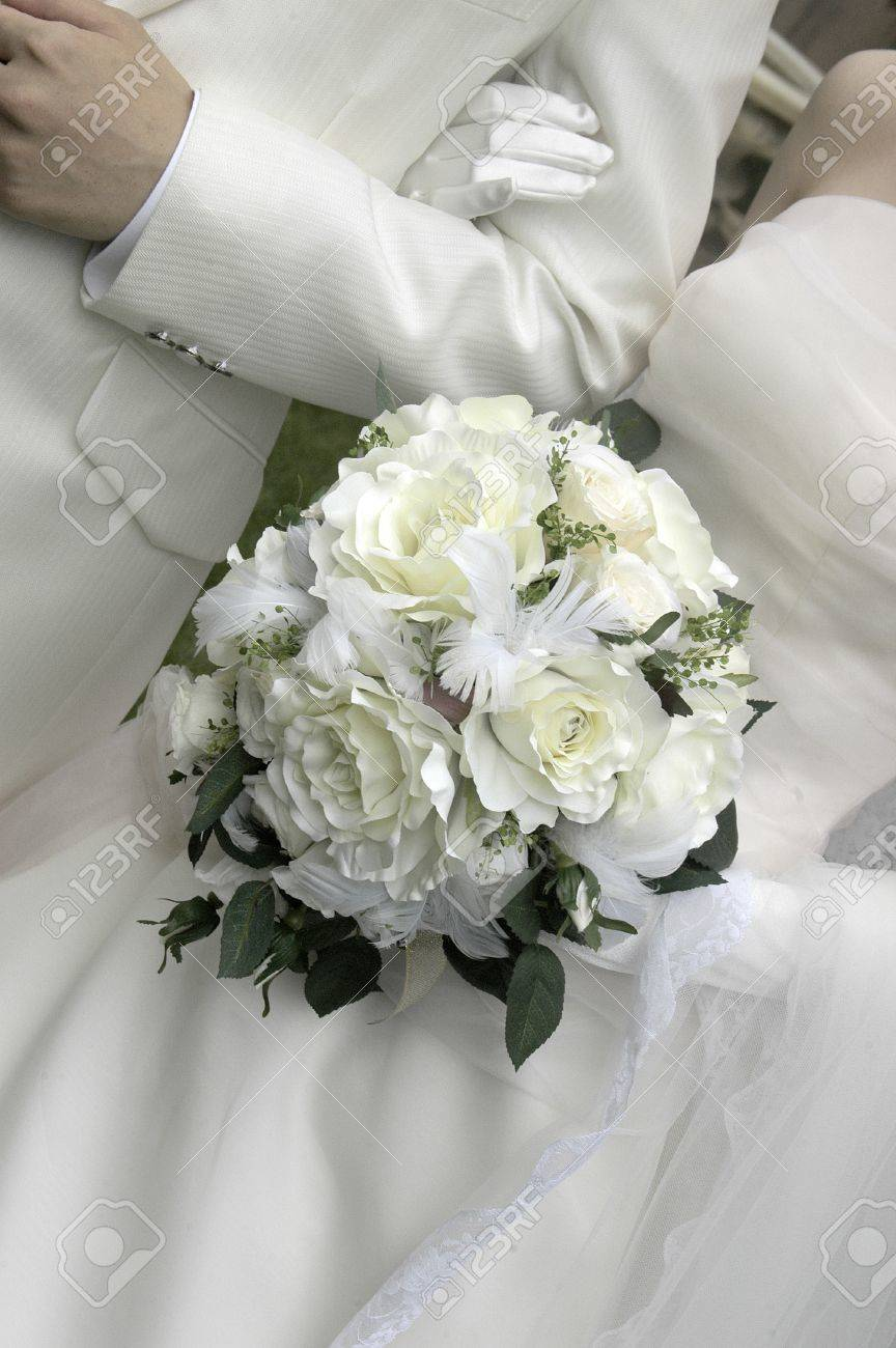 Wedding Bouquet Of Ball Type To Keynote A White Bouquet I Have