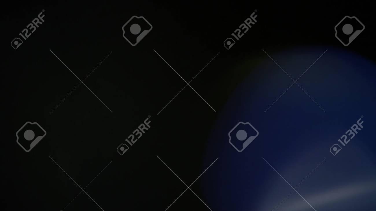 Real Lens Flare Shot in Studio over Black - 105628762