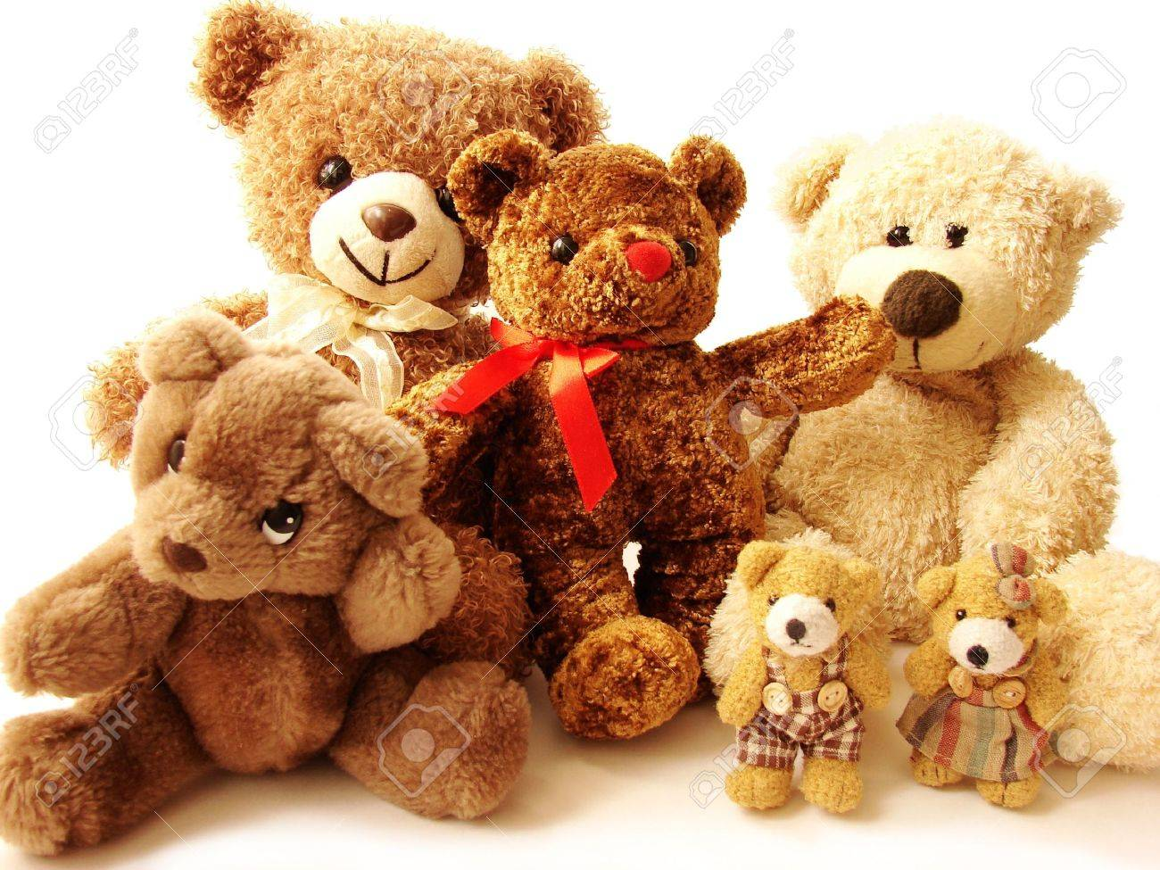 big family of teddy bears stock photo picture and royalty free