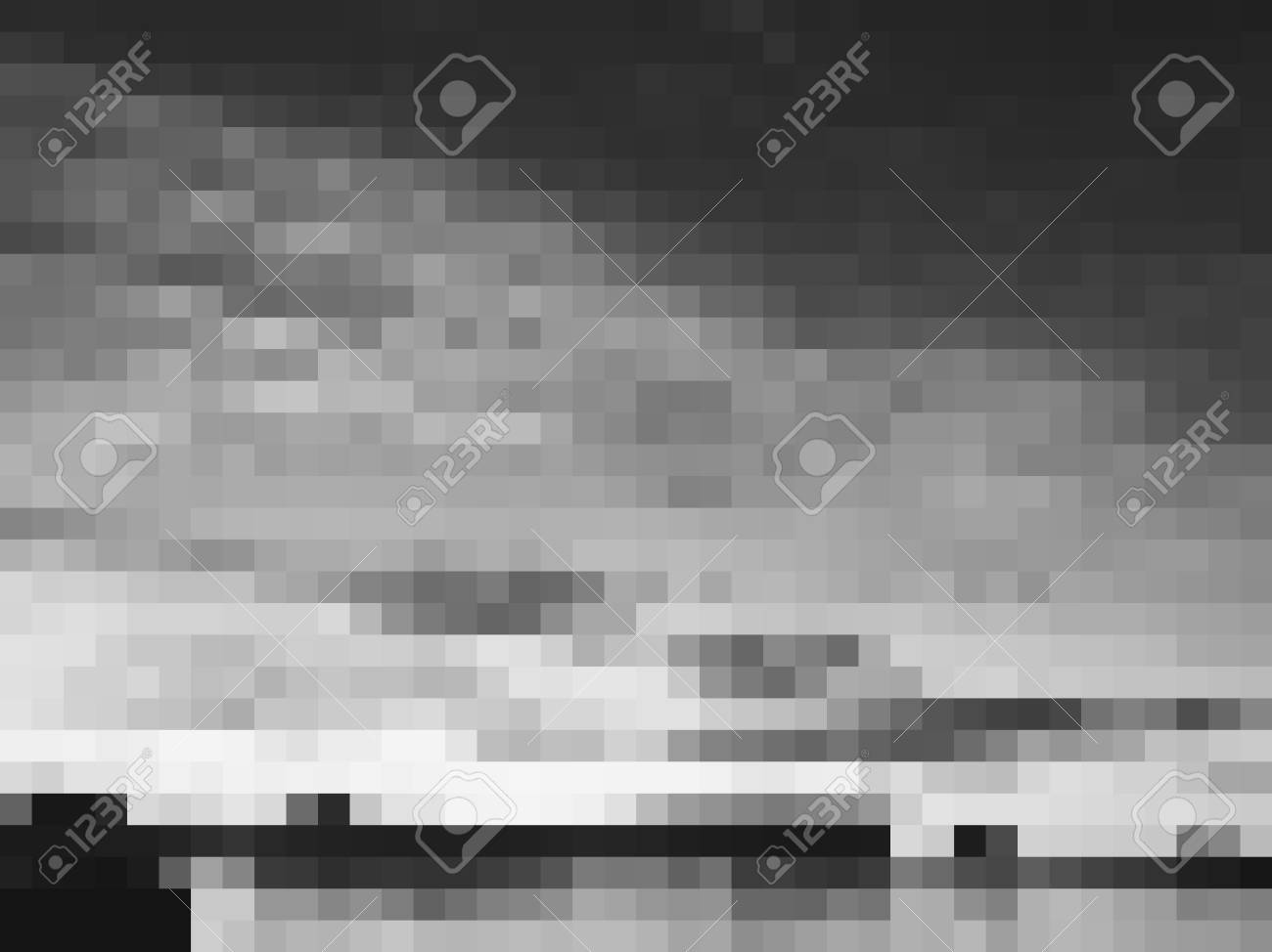 Vector Abstract Grey Monochrome Background With Triangles Textured