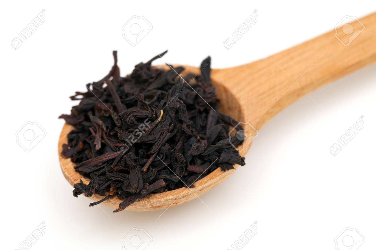 tea spoon isolated on white background Stock Photo - 16574830