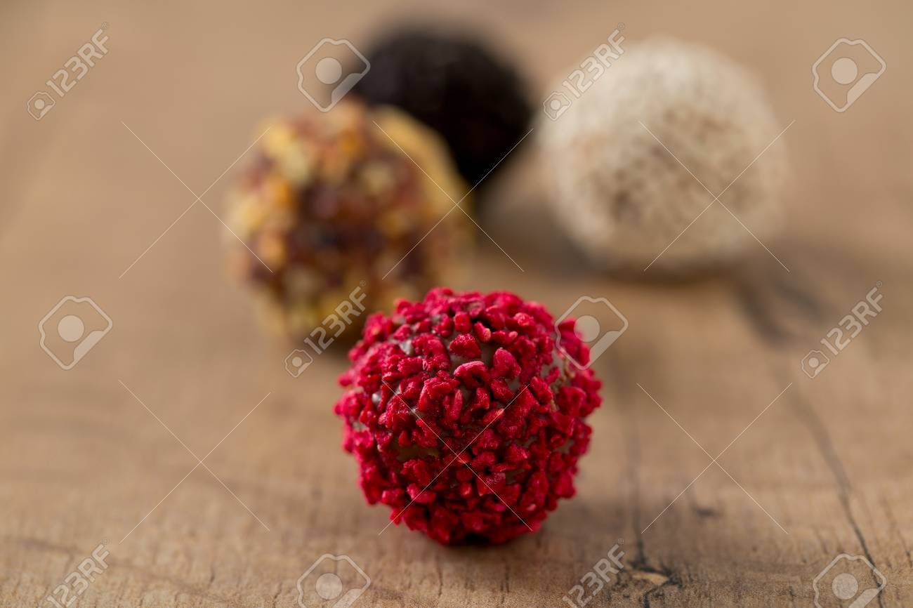 Beautiful Chocolate Candies Stock Photo Picture And Royalty Free