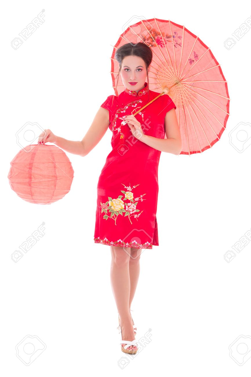 Japanese Red Dress