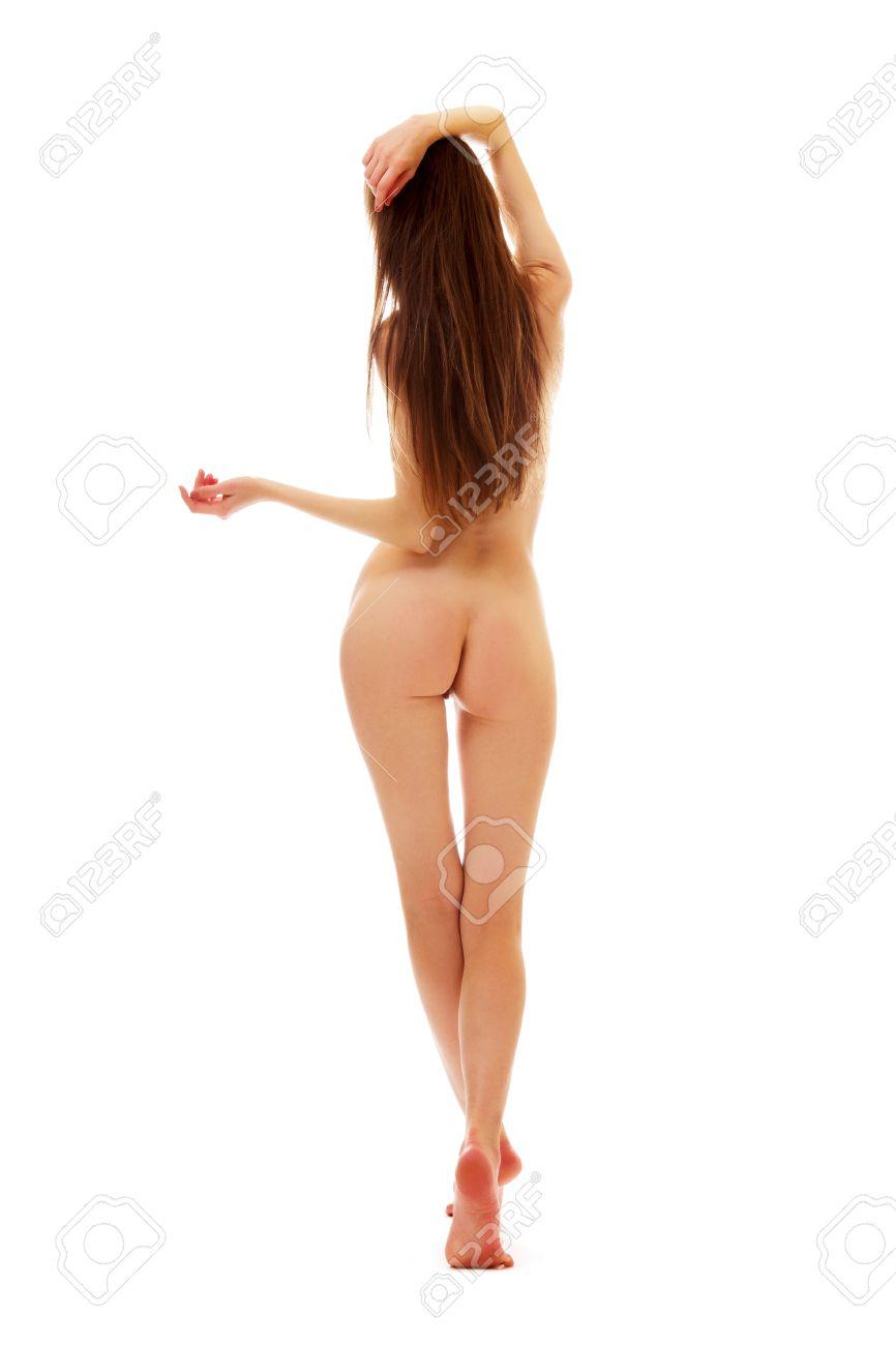 Nackt hinten frauen junge von Geile Girls