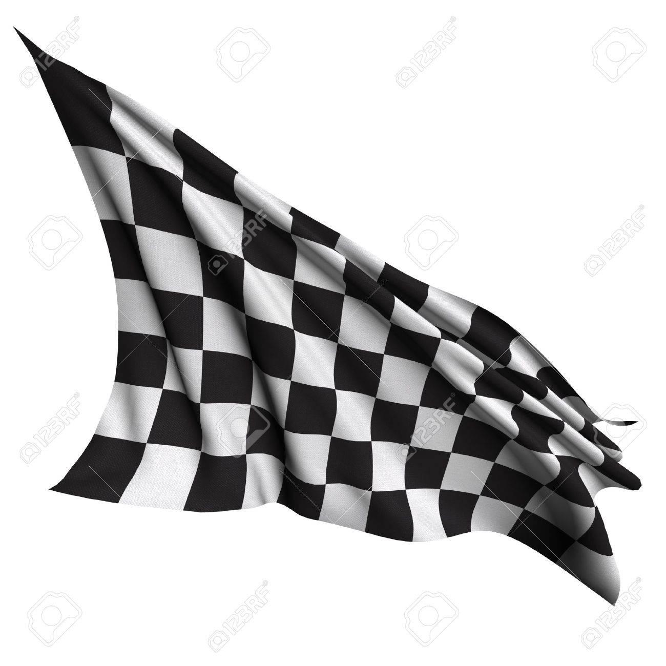 Finish flag Stock Photo - 15714693