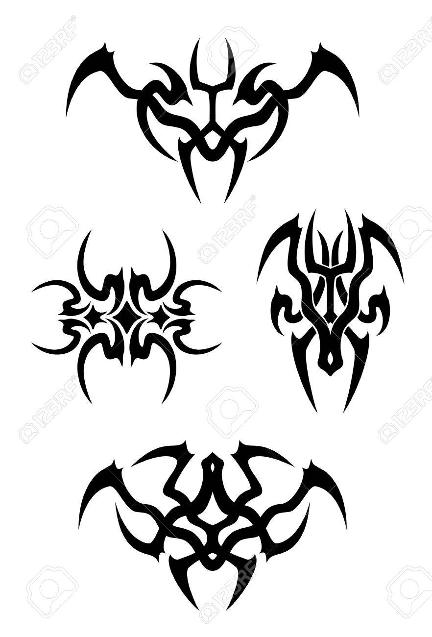 Tribal tattoo set Stock Vector - 17702573