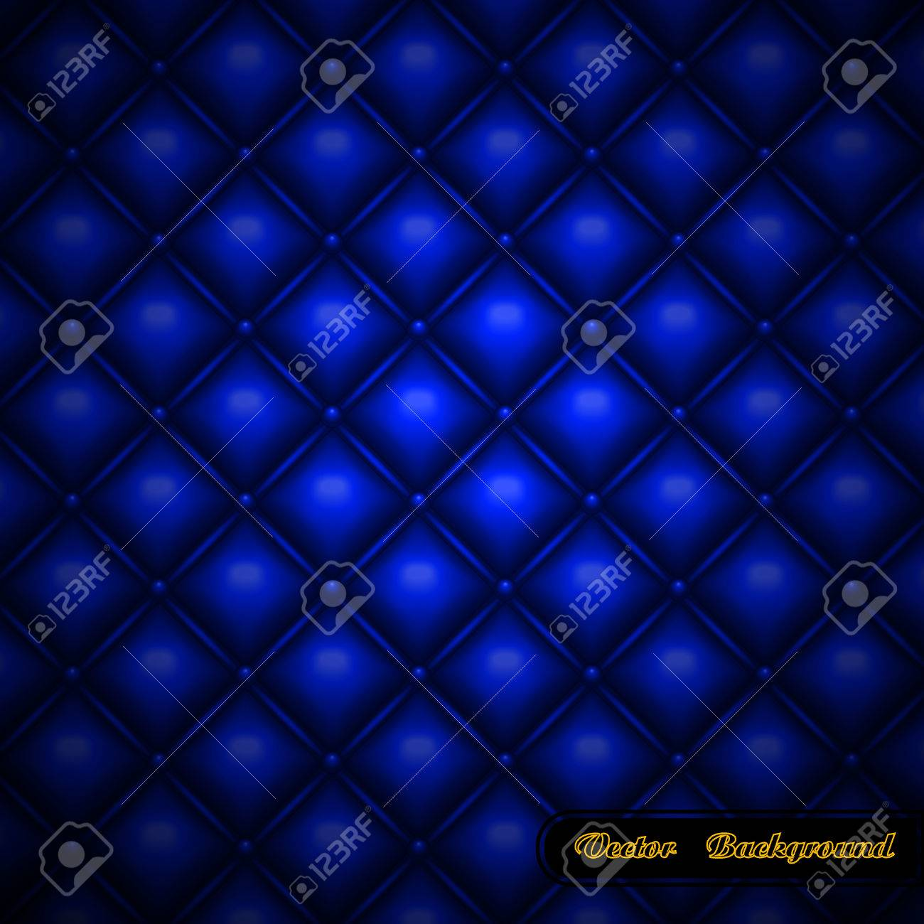 Leather upholstery.  illustration. Stock Vector - 8638575