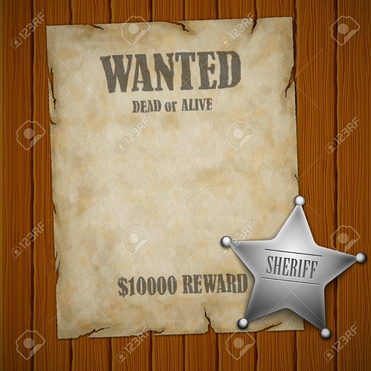 Western Style Sign Abstract Background Stock Photo   12384510