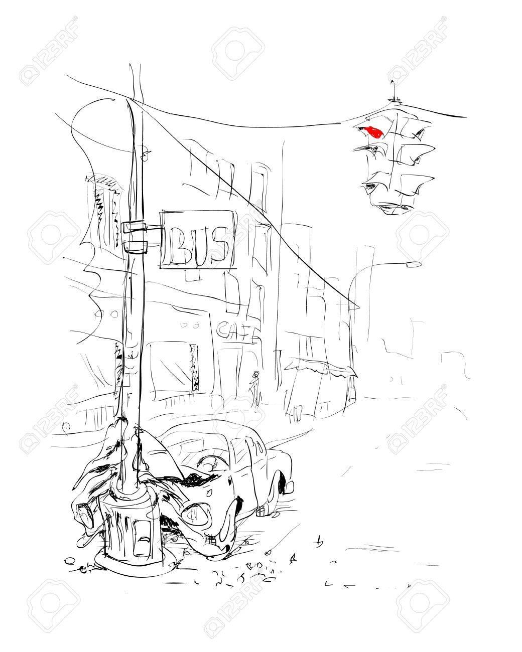 Car Accident Crash Illustration Royalty Free Cliparts, Vectors, And ...