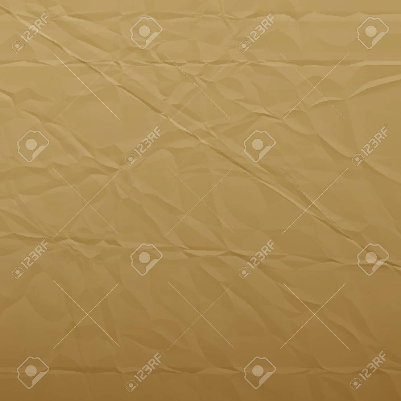 wrinkled paper  vector background  tps10 Stock Photo - 18313163