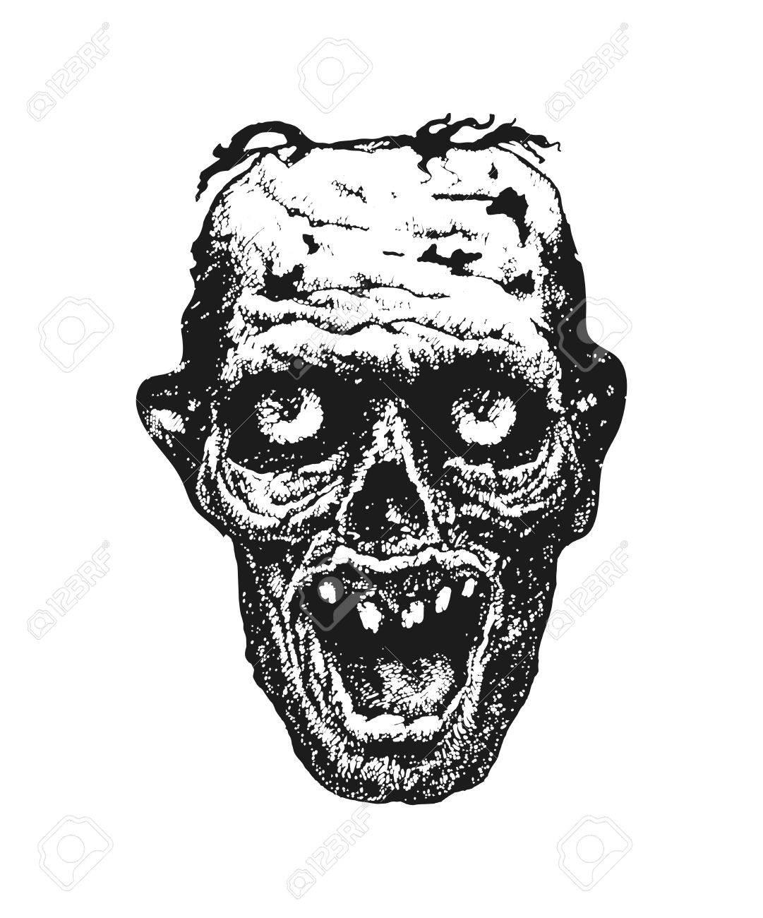 Zombie Hand Drawn