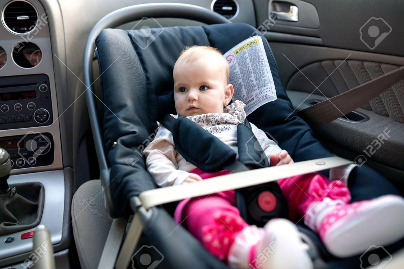Baby Car Seat.. Stock Photo