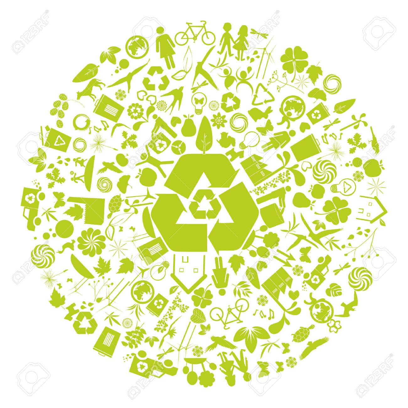 ecology and environment design Stock Vector - 6169012