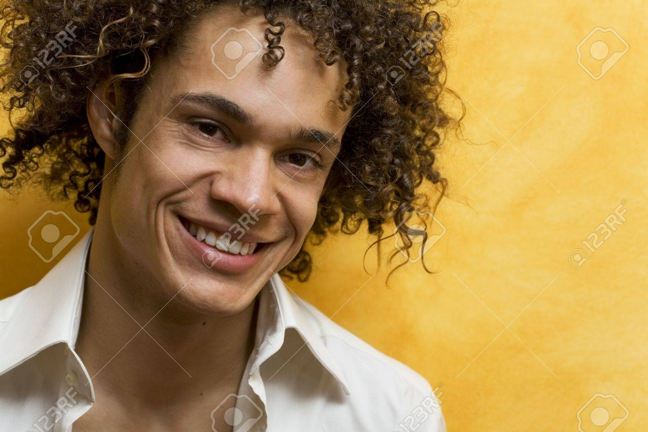 nice guy smiling Stock Photo - 444097